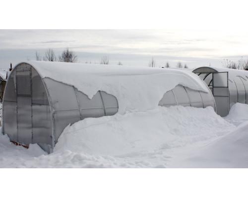 Подготовка теплицы к зиме.