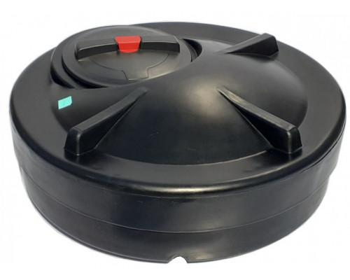 Бак для душа круглый без подогрева 120 литров