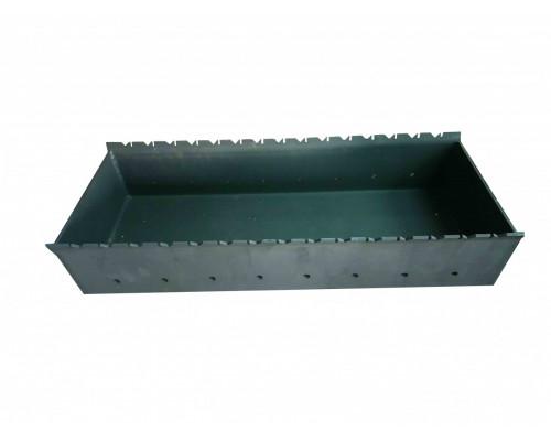 Мангал Чаша 300 х 800 мм толщина стенок 5 мм