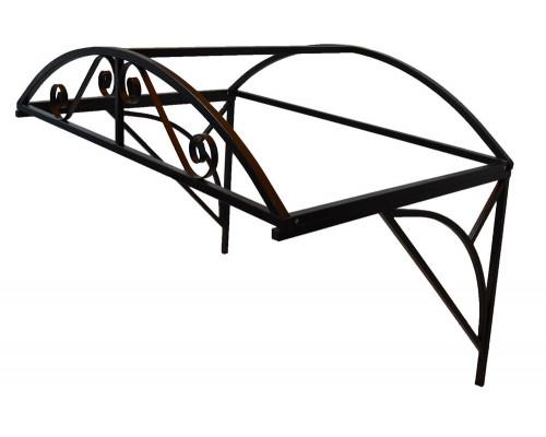 Козырек Арочный Ажурный 1,4 метра шириной