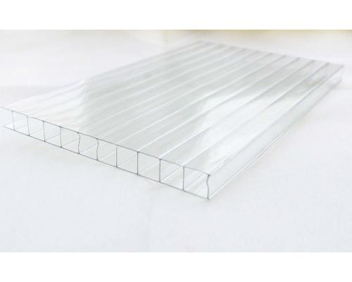 Сотовый поликарбонат 4мм (2100х6000мм), плотность 520 г/м.кв