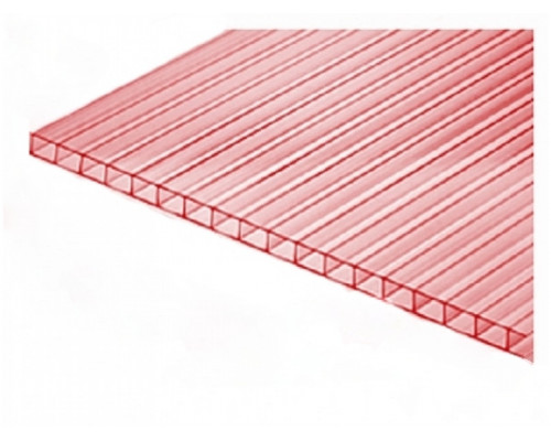 Сотовый поликарбонат 4мм НАНО (2100х6000м)