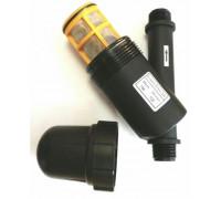 Фильтр сетчатый 3/4″ наружная резьба с двух сторон, 150 mesh