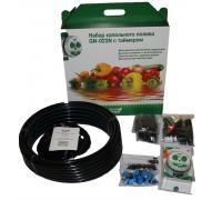"Набор капельного полива ""Green Helper GN-023"" на 64 растения, кран-таймер"