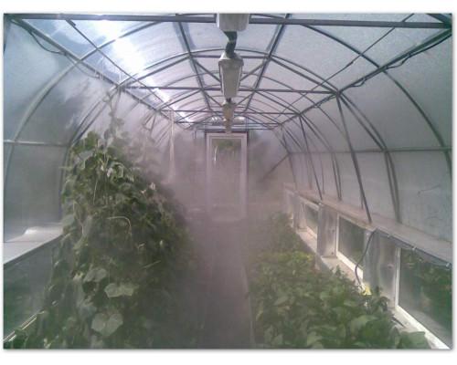 Комплект туманообразования GREEN HELPER MNS-18-100 (18 метров, 26 форсунок)